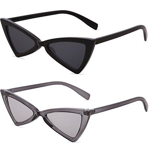 df8c8e7f67 Sojos Gafas De Sol Pequeña Cateye Para Mujer Hombre Gafas ...