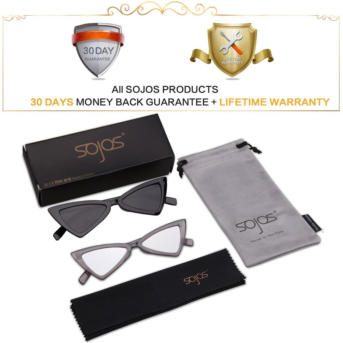 6b23f62e52 sojos gafas de sol pequeña cateye para mujer hombre gafas. Cargando zoom.