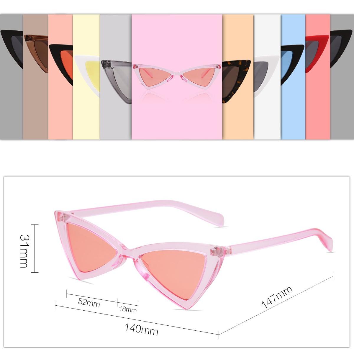 c26264f3f6 Sojos Gafas De Sol Pequeñas Cateye Para Mujer Hombre Gafa - $ 71.900 en  Mercado Libre