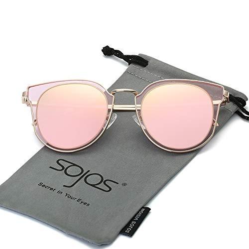 7296213dd0 Sojos Gafas De Sol Polarizadas De Moda Para Mujer Lente De E ...
