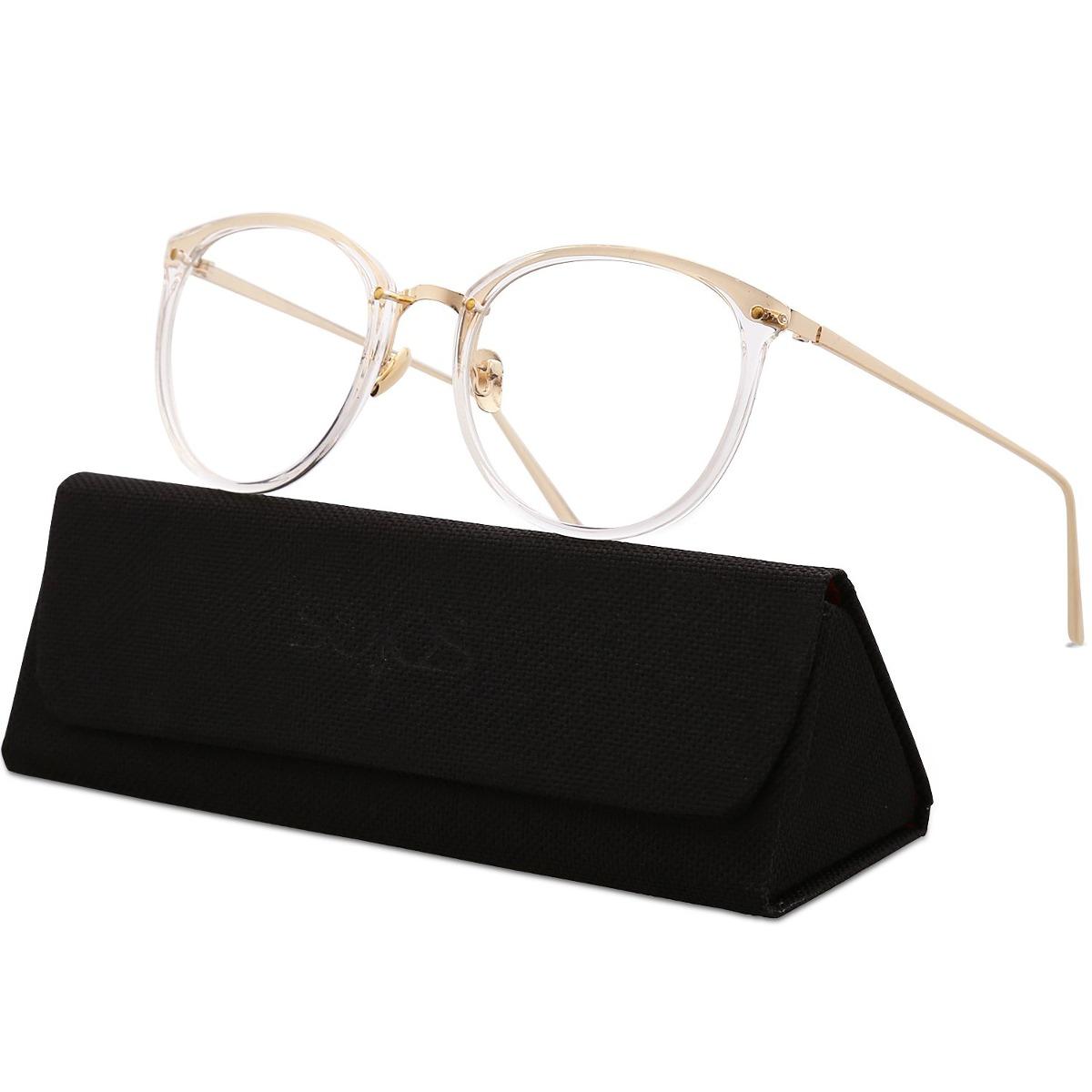 sojos gafas redondas mujeres gafas de moda marco óptico g. Cargando zoom. 3c97e2745a70