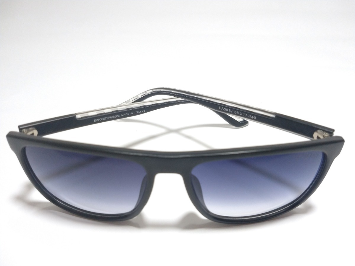 b06628739 Carregando zoom... óculos de sol preto degradê azul empório armani ea 5012