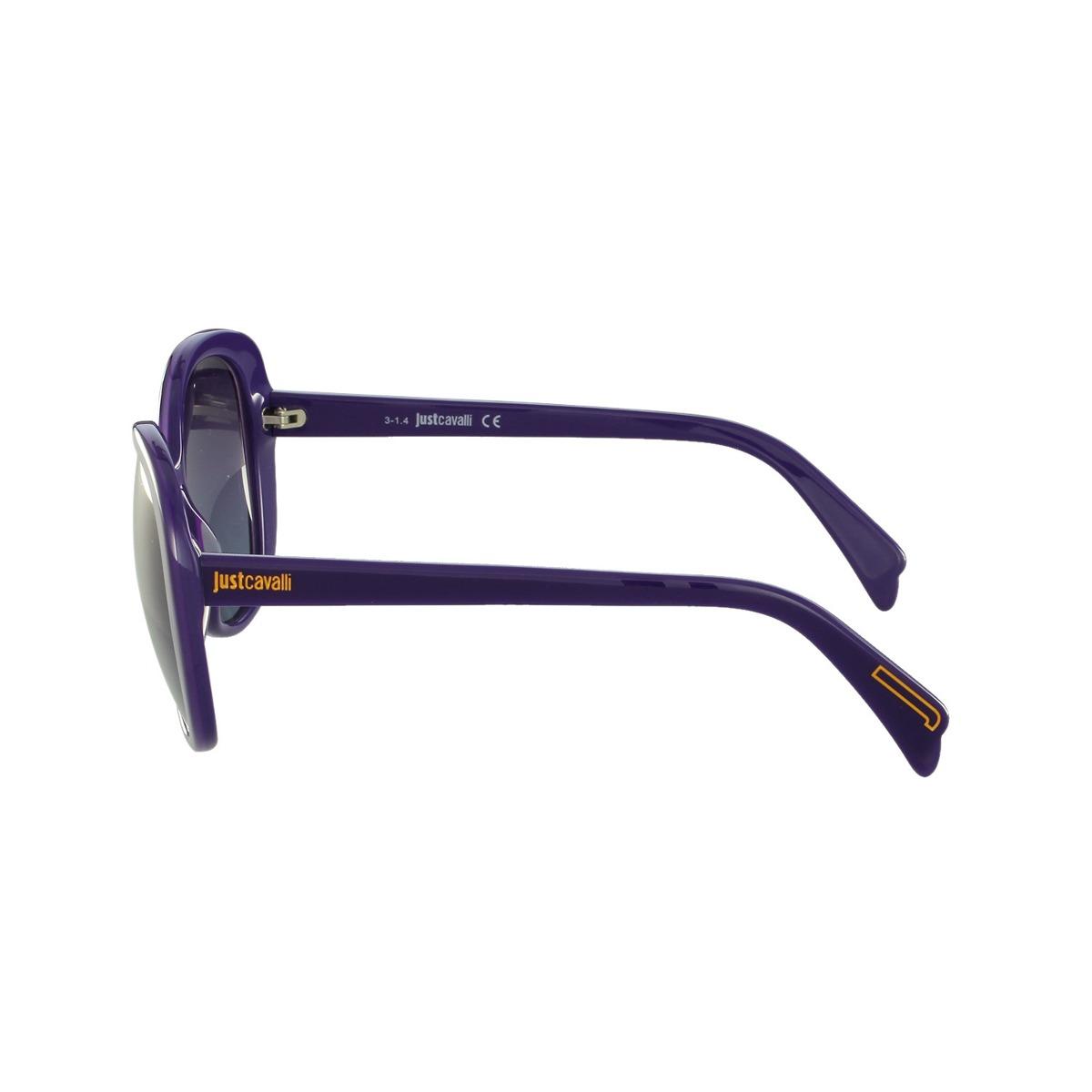 854734cb5c148 Óculos De Sol Just Cavalli Fashion Roxo - R  279