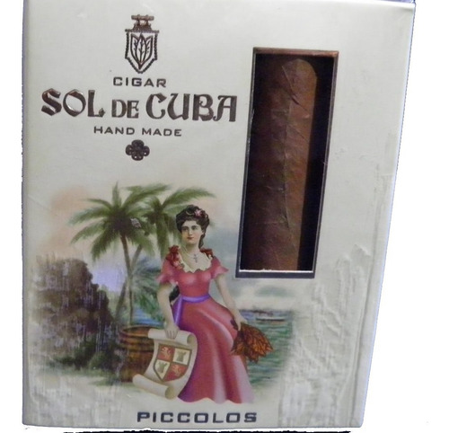 sol de cuba cigarros puritos caja x5 cigarros piccolos picol