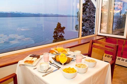 sol del nahuel, hermoso hotel sobre el lago. bariloche