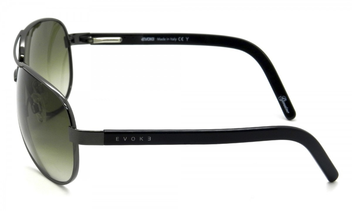 Óculos De Sol Evoke Poncherello Gun Green Aviador - R  449,00 em ... 7a3230a1d8