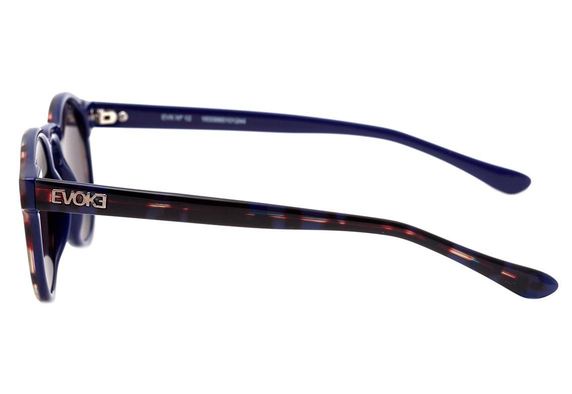 8ef99f111b559 Carregando zoom... oculos de sol evoke evk 12 g24s turtle blue matte silver
