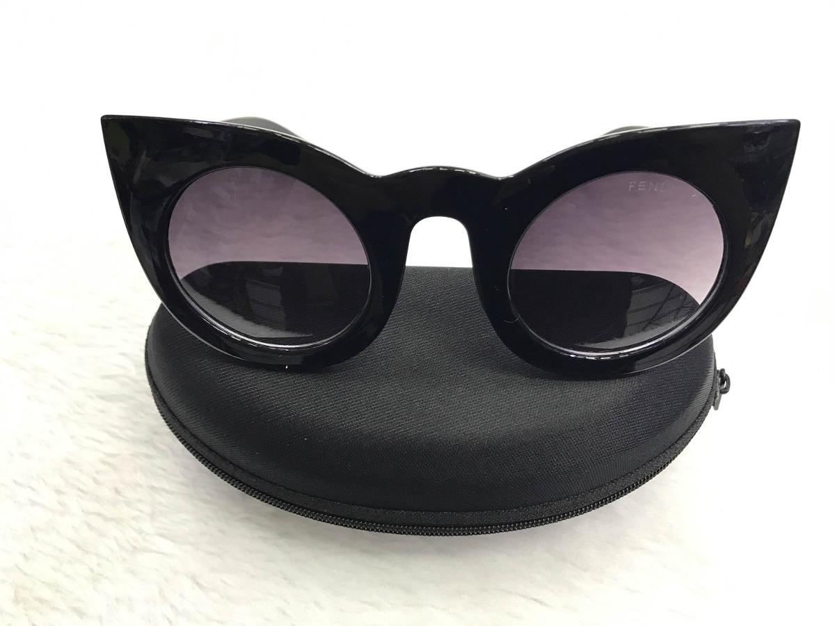 9d27e242fb328 Carregando zoom... óculos de sol fendi lolly feminino gatinho lançamento  2018