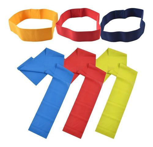 sol fitness set 6 bandas elasticas diferente intensidad