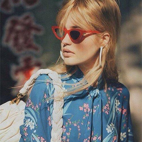 0d2c687973 gifiore gafas de sol retro vintage para mujer gafas de aro g. 7 Fotos