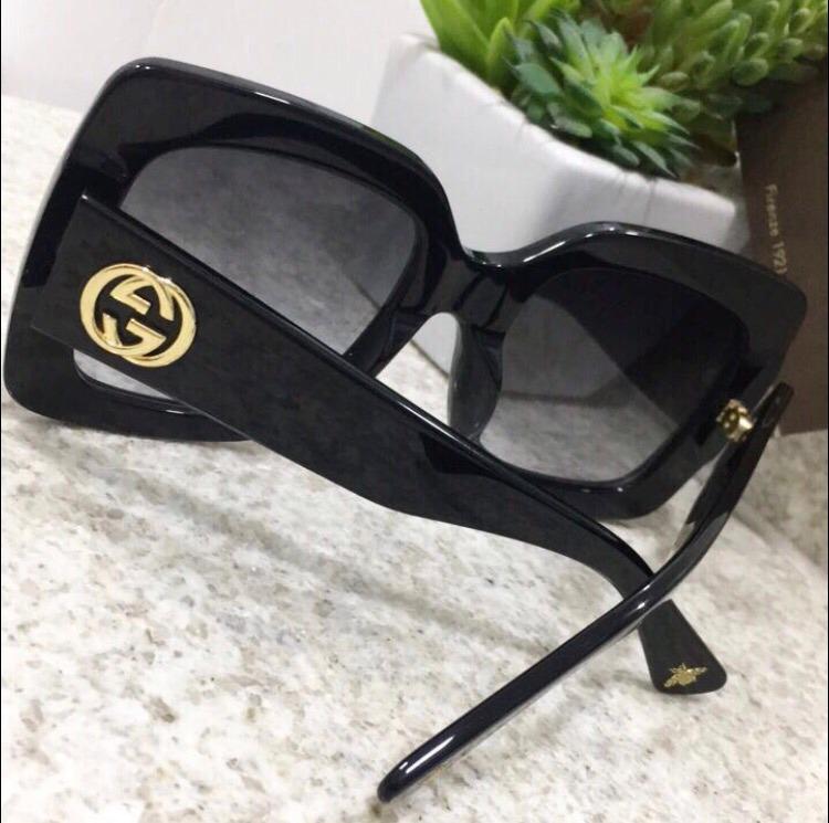 Carregando zoom. e51a5957163656  sol gucci óculos · óculos de sol gucci  quadrado acetato com kit frete grátis 61254806f9a6b0 ... 78f03a53d1