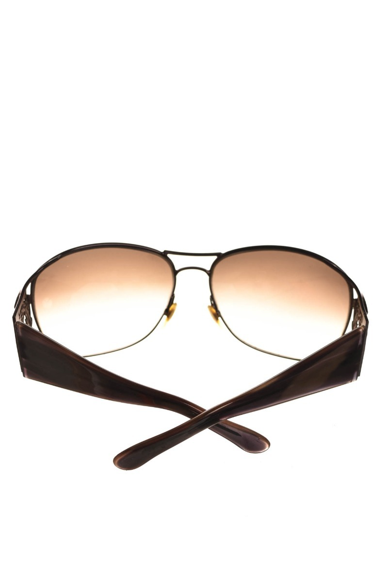 Óculos De Sol Marrom Brasão Feminino Gucci Original - R  539,90 em ... ff312f06bc