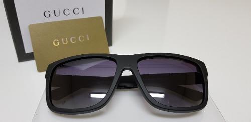 Óculos De Sol Gucci Original Gg1124 f s Acetato Preto - R  950,00 em  Mercado Livre 962dc95511