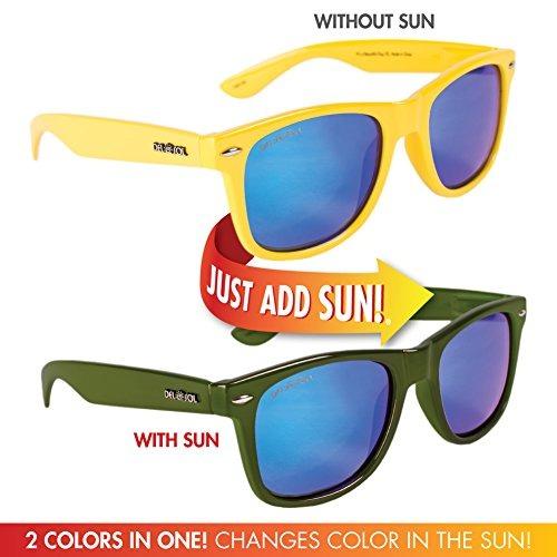 1da888907f Sol Ize Gafas De Sol Polarizadas Que Cambian De Color Por ...