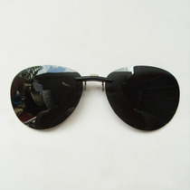 Gafas Aviador Clip-on Cubrelentes Polarizadas Uv400 Negr/ver