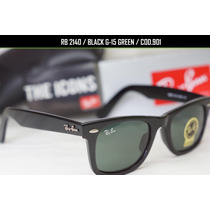 Gafas Ray Ban Wayfarer 2140 Originales 50mm 54mm