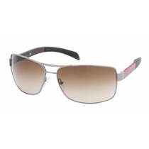 Gafas Prada Linea Rossa Ps54is 5av5 Sunglasses Gunmetal, 65
