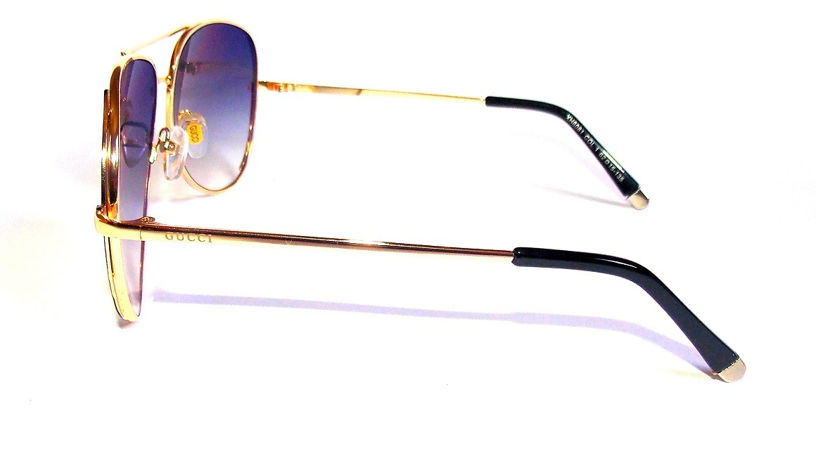3aafe42f7409d Carregando zoom... óculos de sol feminino marc jacobs dourado importado  barato