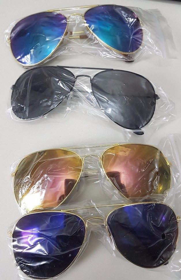 c69b9a456552b Carregando zoom... kit 5 óculos sol aviador unissex sem marca atacado  revenda