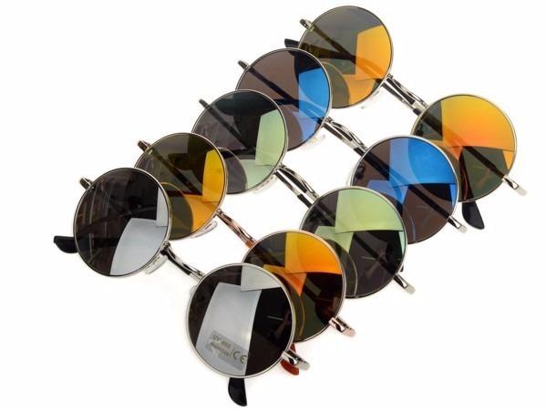 kit 6 óculos sol redondo roundy unissex sem marca atacado · óculos sol marca  · sol marca óculos 08f85fbe18