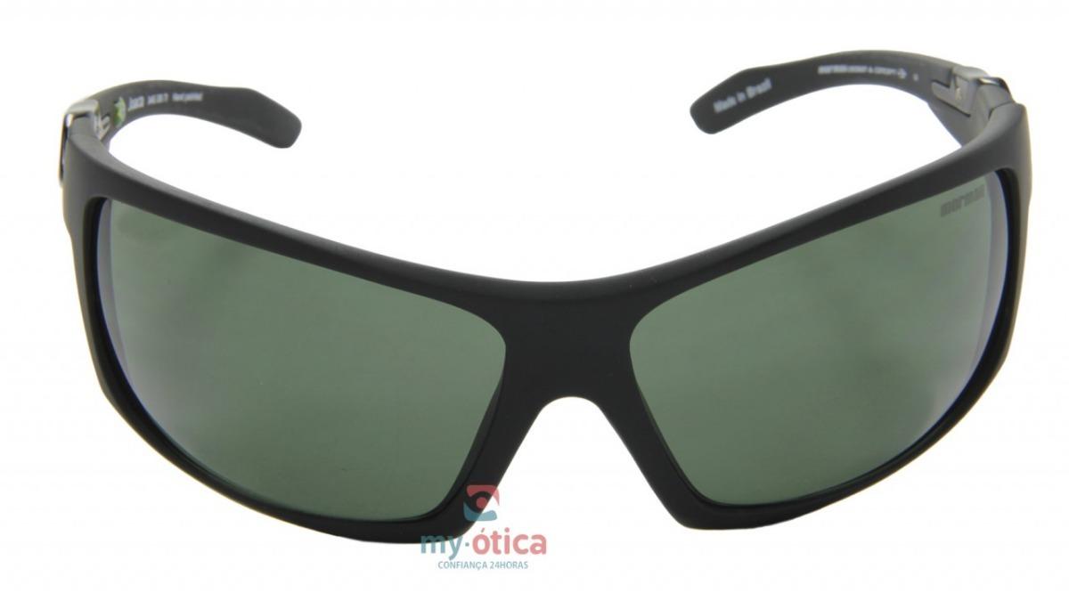 688cbd29b8bc5 Óculos De Sol Mormaii Joaca - Preto Logo Preto Nfe - R  240