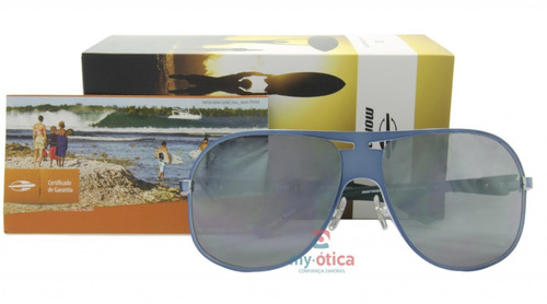 ee7427f951146 Óculos De Sol Mormaii Deep Azul E Petróleo Original Com Nfe - R  383 ...