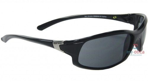 Óculos De Sol Mormaii El Capitan Preto Brilh Original Com Nf - R ... 3a2acd38fc