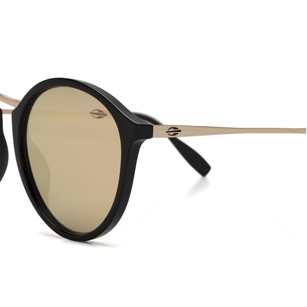 47fface6809e7 Óculos De Sol Mormaii Cali Preto Brilho Lente Marrom Revo - R  349,00 em  Mercado Livre