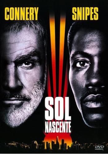 sol nascente dvd novo original lacrado - sean connery