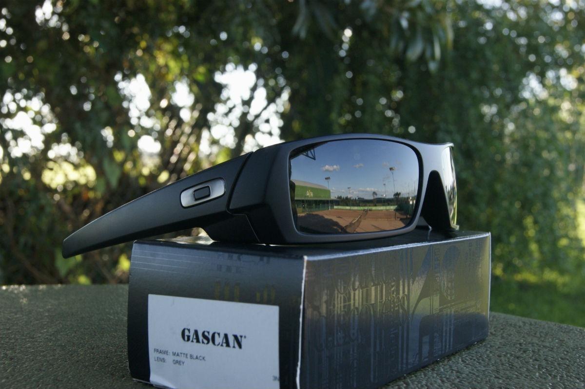 fded9d744b3fa Óculos De Sol Oakley Gascan 03-473 Preto Fosco Original - R  639,00 ...