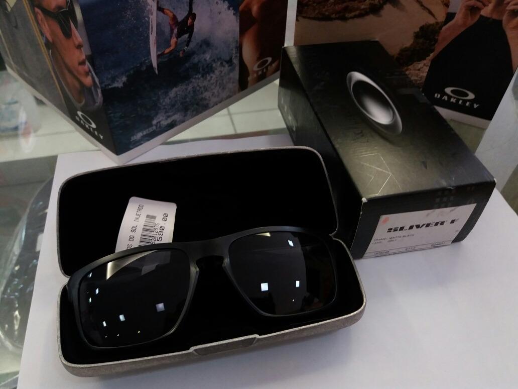 7a8eeda0e1ed5 Carregando zoom... óculos de sol oakley sliver f - matte grey black original