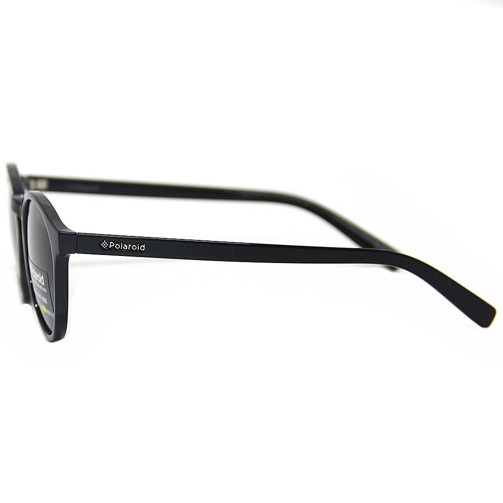 Óculos De Sol Polaroid 1013 Redondo Preto Brilho - R  168,00 em ... d100260aa8