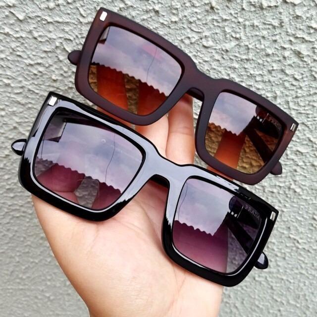 5c4be34864099 Oculos De Sol Prada Luxo Original Quadrado Feminino Oferta - R  82 ...