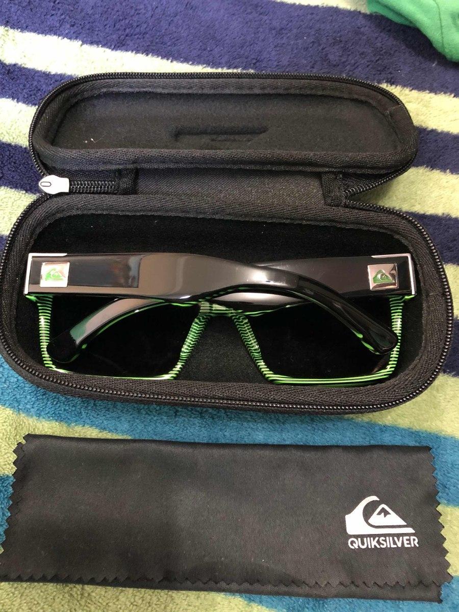 2dea7fe699bcb Óculos De Sol Quiksilver Enose Black Camo Grey - R  300