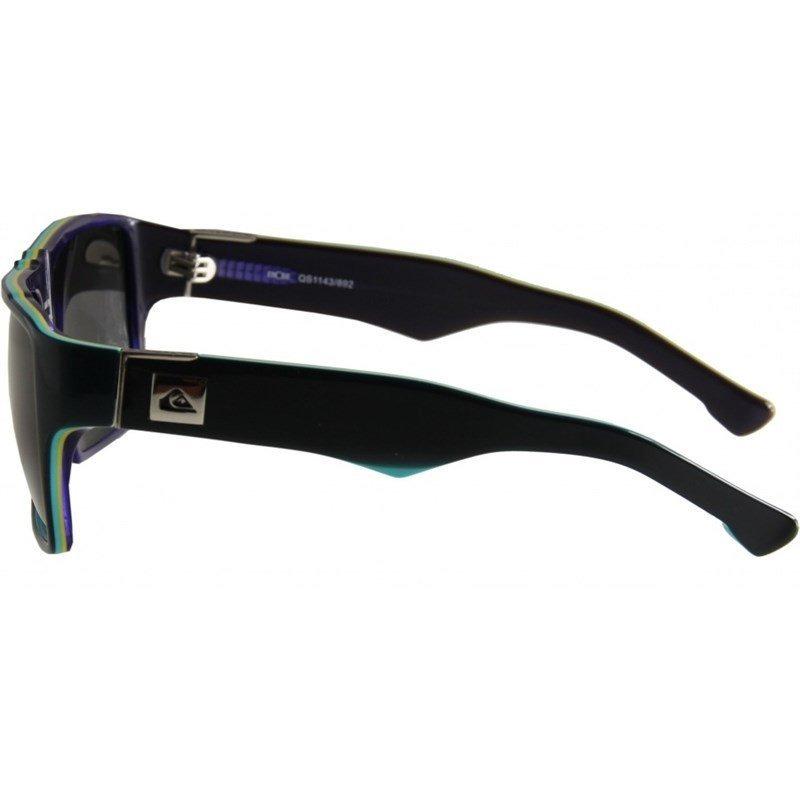 266ec55adfdc2 Óculos De Sol Quiksilver Enose Black Iso Grey - R  269