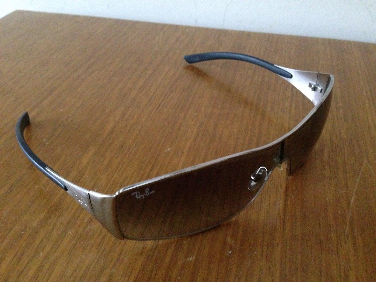 21f51ecc66a1c Carregando zoom... óculos de sol ray-ban rb3268 original antigo usado riscos