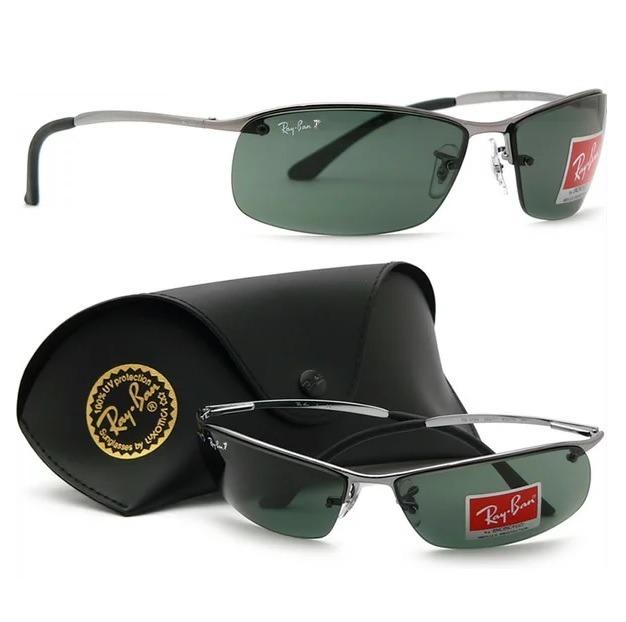 Óculos Sol Ray-ban Rb3542 Rb3183 Top Bar Polarizado Original - R ... 252d575759
