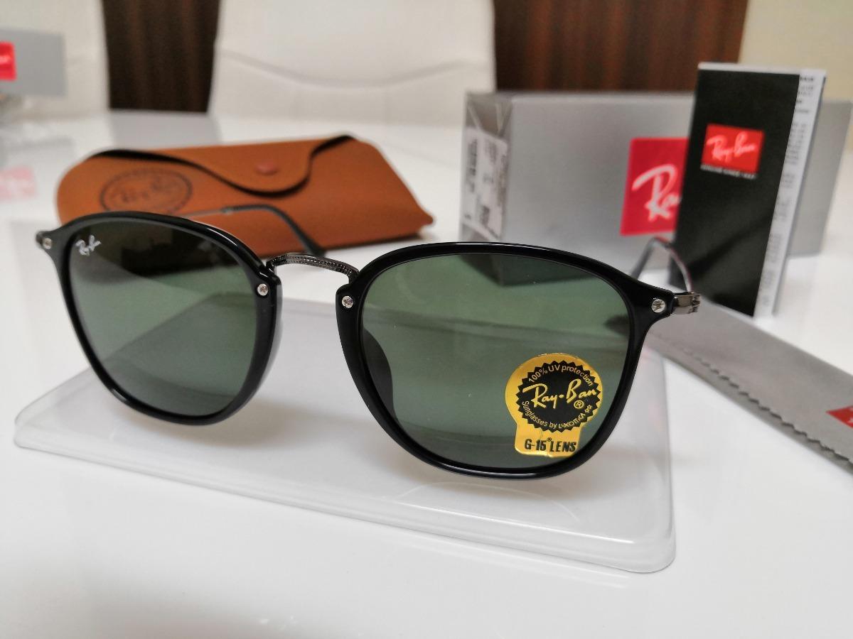 Óculos Sol Ray-ban Rb2448n Preto Clássico E Lente Verde G15 - R  398,00 em  Mercado Livre f366ec30f0