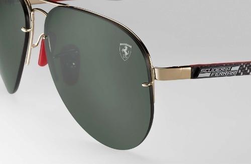 Óculos Sol Ray-ban Rb3460 M Aviador Flip Out Ferrari Lentes - R  549,00 em  Mercado Livre 89cba3785f