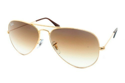 Óculos De Sol Ray-ban Aviador Com Lentes Degradê 3025l001 51 - R  262,26 em  Mercado Livre 4cca42ce6a