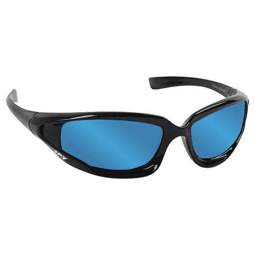 5ec703793d100 Oculos Sol Espelhado Spy Original Hcn 50 Preto Lente Azul - R  179 ...