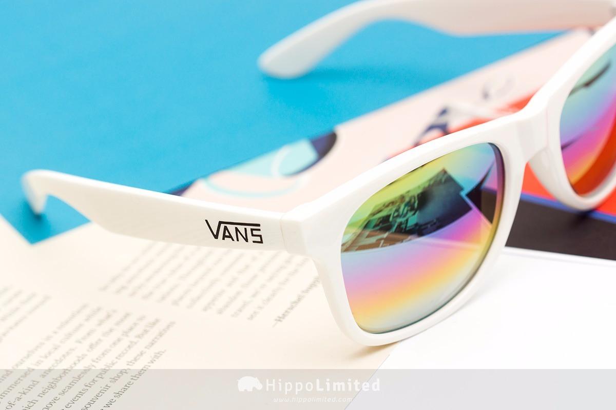b18d0cc4e1408 Óculos De Sol Vans Importado Ny -branco   Arco-íris Espelho - R  159 ...