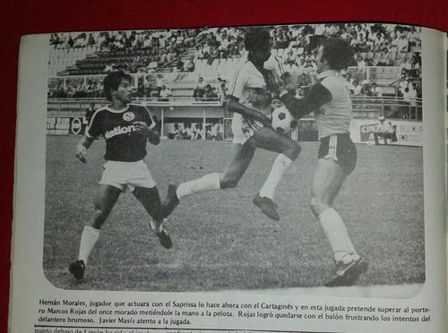 sol y sombra de 1981 numero dedicado a jugadores de saprissa