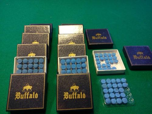 sola p/ taco de bilhar / sinuca buffalo 11mm cx 50 unidades