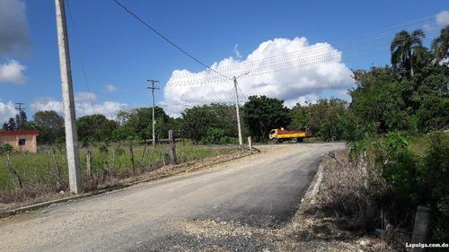 solar 210 mts. enresidencial colinas de villa mella