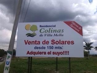 solar 215 mts. enresidencial colinas de villa mella