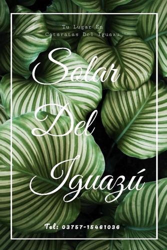 solar del iguazú- departamento x dia c/pile en puerto iguazú