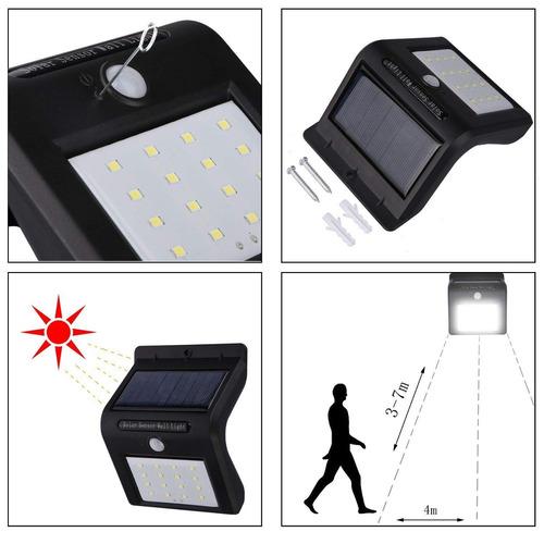 solar lámpara solar