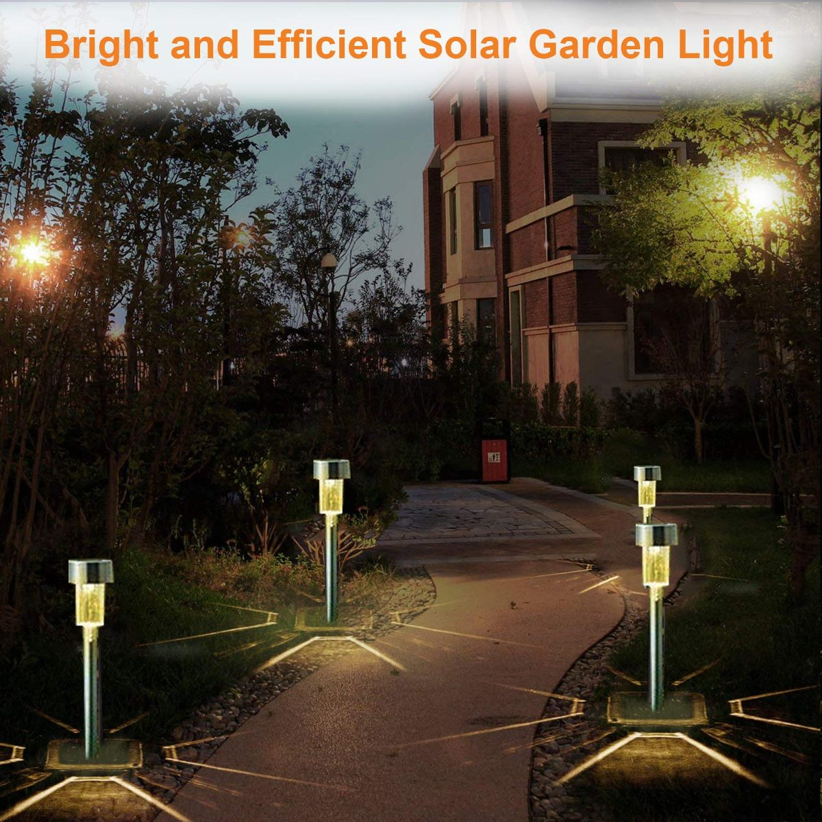 Solar Lights Outdoor Solar Driveway Lights 12pack Stainless 46 900 En Mercado Libre