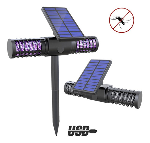 solar mosquito assassino lâmpada ao ar livre à pro